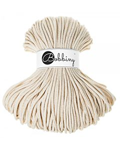 Bobbiny Punottu lanka Golden Natural Premium 5mm