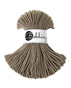 Bobbiny Punottu lanka Coffee Junior 3mm