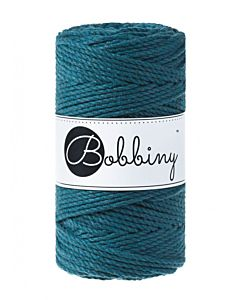 3Ply Makrame Lanka Peacock Blue 3mm 100m Image