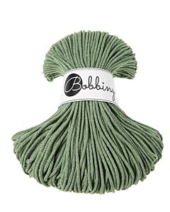 Bobbiny Punottu lanka Eucalyptus Green Junior 3mm