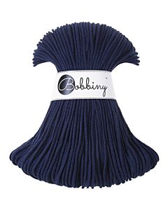 Bobbiny Punottu lanka Navy Blue Junior 3mm