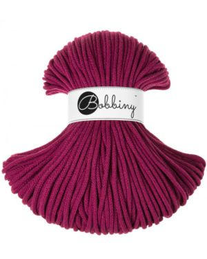 Bobbiny Punottu lanka Grape - Winter Edition Premium 5mm