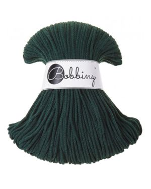 Bobbiny Punottu lanka Forest Green Junior 3mm