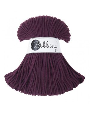 Bobbiny Punottu lanka Maroon Junior 3mm