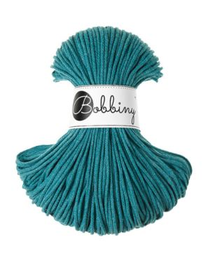 Bobbiny Punottu lanka Teal Junior 3mm