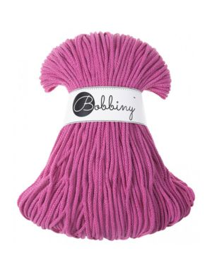 Bobbiny Punottu lanka Hot pink Junior 3mm