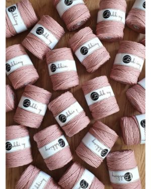 3Ply Makrame Lanka Blush 5mm 100m Image