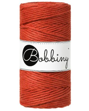 Bobbiny Makrame Lanka Burnt Orange	3mm