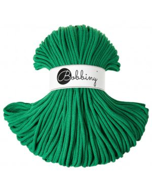 Bobbiny Punottu lanka Festive Green - Winter Edition Premium 5mm