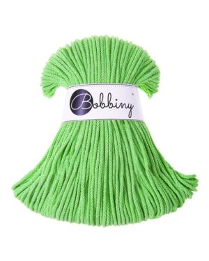 Bobbiny Punottu lanka Lime Junior 3mm
