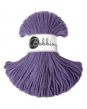 Bobbiny Punottu lanka Ultraviolet - Winter Edition Junior 3mm