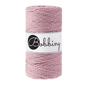 3Ply Makrame Lanka Dusty Pink 3mm 100m Image