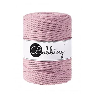 3Ply Makrame Lanka Dusty Pink 5mm 100m Image